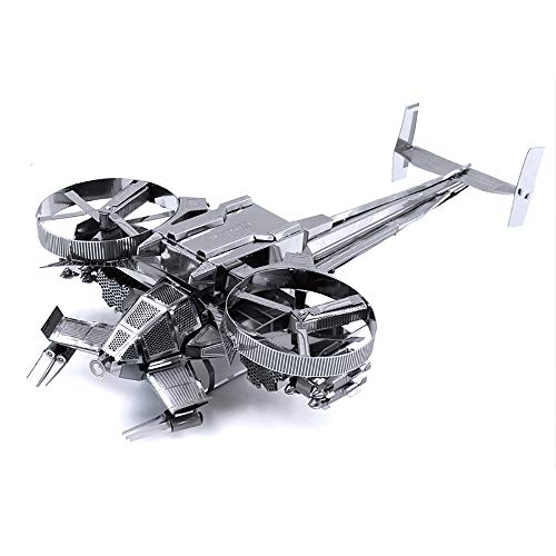 XINGYAN 3D-Metallmodell, DIY Montieren Erwachsene Bau Modell Kits Laser Geschnitten Puzzle Ausstellungsstand Geschenk Jahrestag Geschenk Sammlung - Avatar-Raumschiff