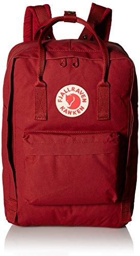 Fjällräven Kånken Laptop 17 Rucksack, Ox Red, 43 x 30 x 18 cm, 20 Liter