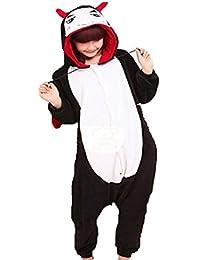 Samgu-diable animal Pyjama Cospaly Party Fleece Costume Deguisement Adulte Unisexe