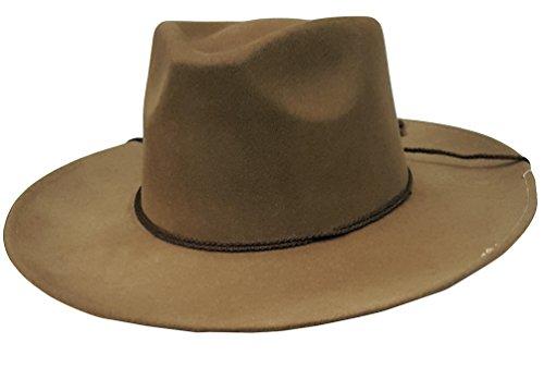 0cc0d2593 Modestone Espagnol Wool Felt Chinstring Chapeaux Cowboy 54 ''for Small  Heads''