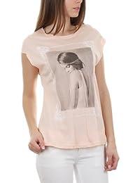 T-shirt imprimé broderie baroque