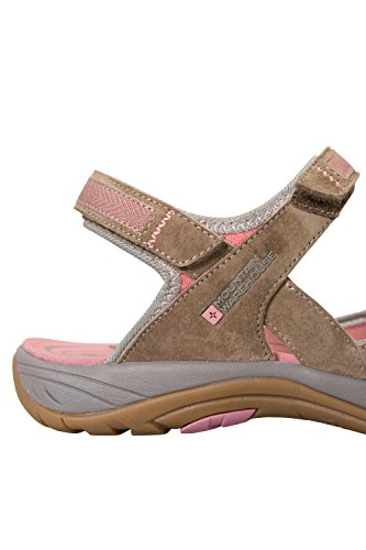 Mountain Warehouse Sandales Femme Chaussure été Confortables Jasmine Marron