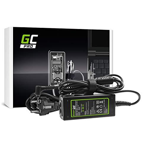 GC PRO Netzteil für Asus Eee PC 1001HGO 1001PQD 1001PXB 1001PXD 1005HAB 1005HAG Laptop Ladegerät inkl. Stromkabel (19V 2.1A 40W) (Eee Pc 1001pxd)