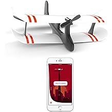 TobyRich Moskito: Smartphone App gesteuertes Flugzeug - ferngesteuerte Drohne für iOS und Android - RTF 2-Kanal Flieger aus EPP