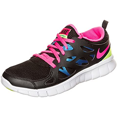 Nike Free Run 2 (Gs), Zapatillas de Running Para Niñas