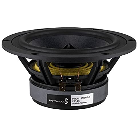 "Dayton Audio RS180P-8 7"" Reference Paper Woofer 8 Ohm"