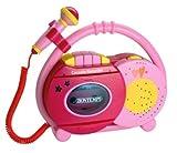 SIGMA SC8571 - Kassettenrecorder sing along mikro pink