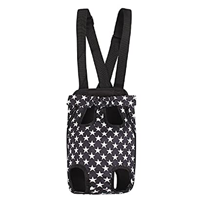 AF-WAN Pets Dog Cat Puppy Carriers Travel Tote Shoulder Bag Sling Carrier Backpack Fit Easy-Fit for Traveling Hiking and… 2