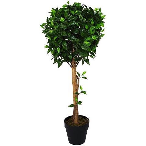 Geko 105 cm 1 pieza Artificial Ficus extra grande bola árbol