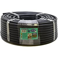 S&M 010064 - Tubería Goteo, 16 mm x 100 m, Color Negro