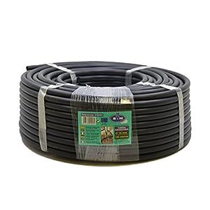 S&M 010064 -Tubería riego por goteo de polietileno Ø 16 mm x 100 metros, color negro
