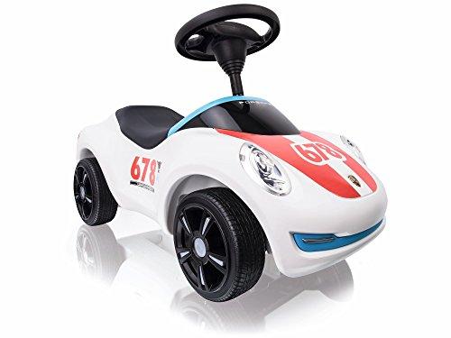 BIG Spielwarenfabrik 800056348 - Baby-Porsche Premium, Rutschfahrzeug, weiß - 2