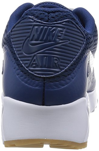 Nike Herren Air Max 90 Ultra Essential Turnschuhe Azul (Coastal Blue / White-Cstl Blue)