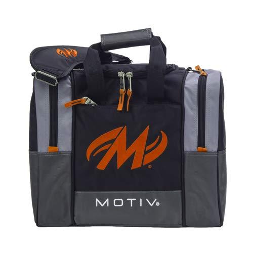 Motiv Shock Single Deluxe Bowlingtasche, Schwarz/Orange