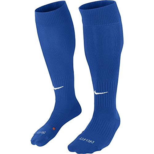 Nike U NK Classic II Cush otc-team Unisex Socken, Mehrfarbig (Royal Blue / White), 42-46 (Herstellergröße : L)
