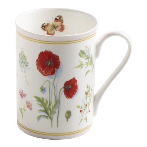 Maxwell & Williams Butterfly Garden Tasse Rose 350ml
