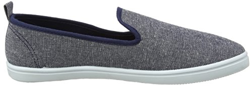 New Look Herren Canvas Sport Sneaker Blue (Blue)