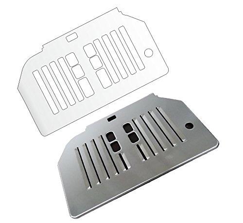 5 x Schutzfolie für Siemens EQ6 Series 300/400/500 Abtropfblech - Tassenablage - Abstellblech