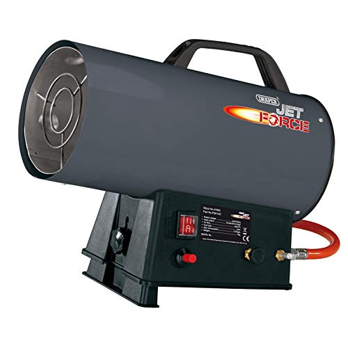 Draper 34 000 BTU/H de Chauffage à gaz Propane/Chaud/Souffleur 240 V 47063