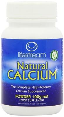 Lifestream 100g Natural Calcium Powder by Lifestream