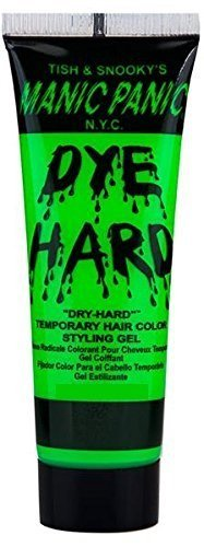 Manic Panic Dye Hard Mini Temp Hair Color Styling Gel 20ml, E. Lizard (Green) by Dye Hard Gel