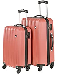 Nasher Miles Zurich ABS Luggage Set Of 2 Trolley/Travel/Tourist Bags (55 & 65 Cm)