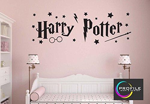Harry Potter–Arte de pared adhesivo, Tamaño aproximado 1014X 330mm