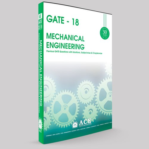 GATE2018 MECHANICAL Engineering, Previous GATE Questions with solutions, Subjectwise and Chapter wise.