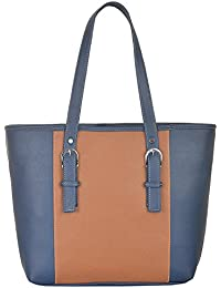 Fostelo Women's Vancouver Shoulder Bag (Blue) (FSB-595)