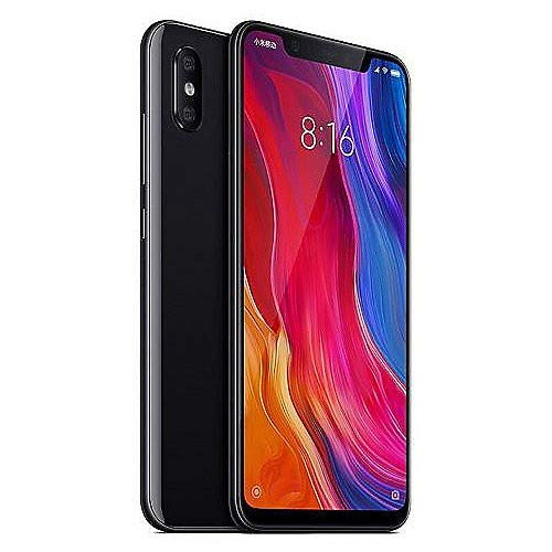 Xiaomi Mi 8 Smartphone from 64 GB, Black