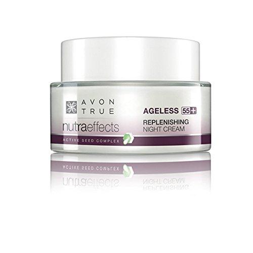 Avon Nutra Effects Ageless Anti-Aging Nachtcreme für Haut ab 55+