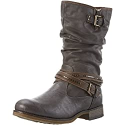 mustang women's 1139-624 long boots - 41SfXCUmWcL - Mustang Women's 1139-624 Long Boots