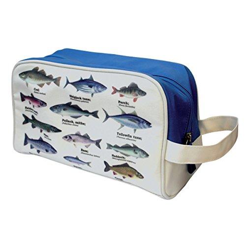 Gift Republic 14057 Fischer's Trousse de toilette Motif poissons