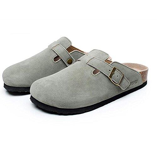 Estate Sandali Pantofole uomo e donna Pantofole casual Pantofole in sughero Ciabatte piatte sandali con 5 colori Colore / formato facoltativo 1003