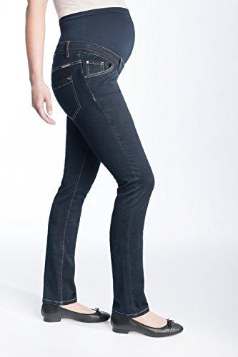 Christoff Umstands-Jeans LEA schlicht straight leg - 11/71/8 Dark Wash