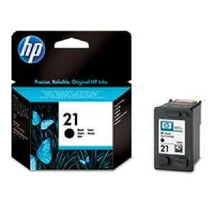 C9351AE#301 HP Ink Cartrdg 21 Schwarz HP 21 Blister. Für Deskjet, Officejet, PSC.