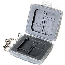 Caja de Tarjeta de Memoria a Prueba de Polvoy Agua Gris