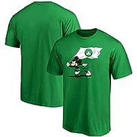 SHPP Traje de Baloncesto de Manga Corta-Hombres Retro Vintage Jersey Jugador de Baloncesto Transpirable usable Hombres Celtic T-Shirt-S-XXXL-C-XXXL