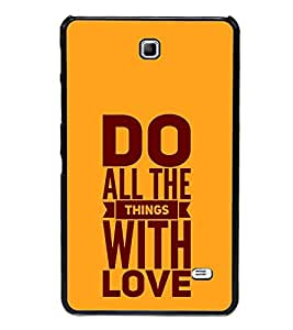 Fiobs Designer Back Case Cover for Samsung Galaxy Tab 4 (7.0 Inches) T230 T231 T235 LTE (God Bhagvan Temple Dress Sports Typography Spritual)