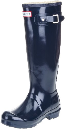 Hunter - Original Gloss (W23616), Stivale da donna Navy