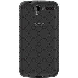 Katinkas 6007040 Housse en silicone TPU pour HTC Desire HD Noir