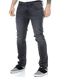 Element Jeans Boom - Slim Fit Schwarz Mid Used
