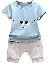 83f6a6c9f Lonshell ❤ Conjunto Ropa Bebé Recien Nacido Verano 6-24 Meses Niños Ojos de