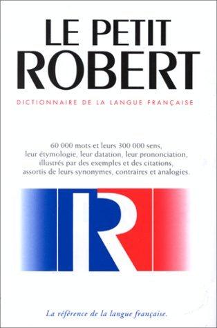 Le Nouveau Petit Robert Dictionnaire De La Langue Francaise : Des Noms Propres by Paul Robert (1995-03-31) par Paul Robert