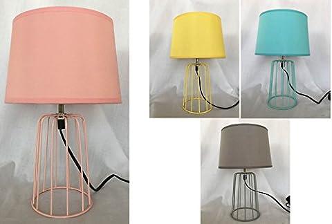Lampe filaire colorée MALMO lampe à poser lampe design lampe salon chambre séjour vendu à l'unité