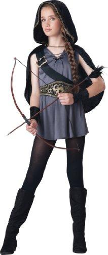 Generique - Bogenschütze-Kostüm für Mädchen - Deluxe 140 (10 - Deluxe Robin Hood Kind Kostüm