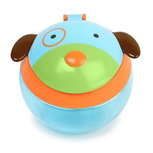 Skip Hop Zoo Snackcup, Snackbox, Aufbewahrungsbehälter für Kinder, mehrfarbig, Hund Darby