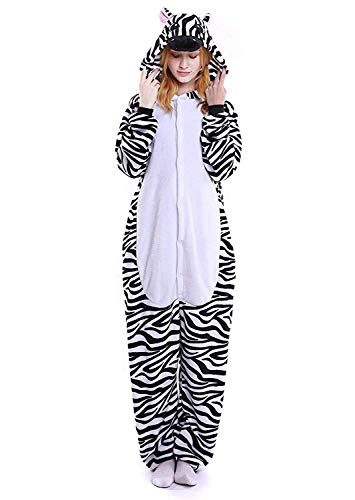 22de1d604 ABYED Adulte Unisexe Anime Animal Licorne Costume Cosplay Combinaison Pyjama  Outfit Nuit Vetements Onesie Fleece Halloween