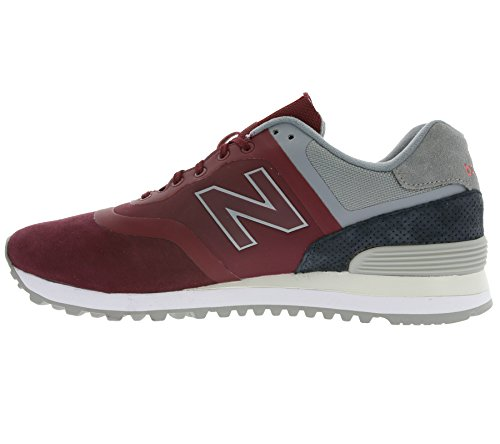 New Balance Herren 574 Sneakers Bordeaux / Grau