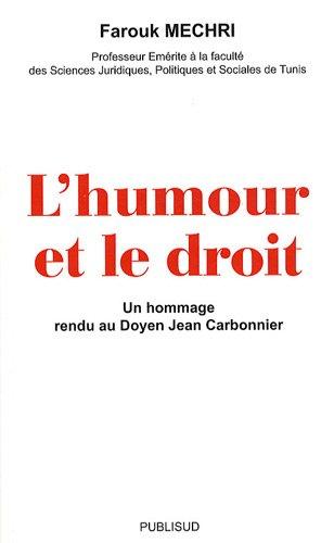 L'humour et le droit : Un hommage rendu au Doyen Jean Carbonnier